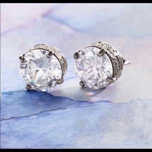 """Silpada Designs """"crown jewel"""" stud earrings"""